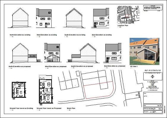 House Extensions Plans